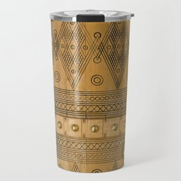 Saudi Heritage Door Travel Mug