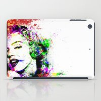monroe iPad Cases featuring Monroe. by David