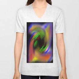 Curves of Color Unisex V-Neck
