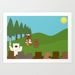 WE♥GOLF Art Print