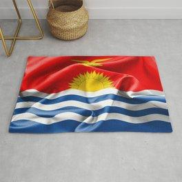 Kiribati Flag Rug