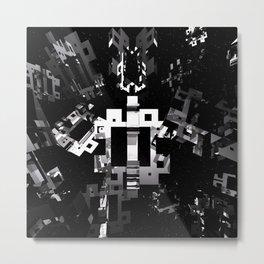 Space Debris Metal Print