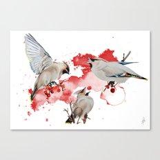Feeding time Canvas Print