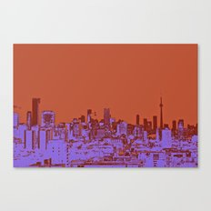 TORONTO CITY II Canvas Print