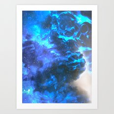 Hold me Tight Throught the Night Art Print