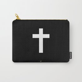 White Cross Carry-All Pouch