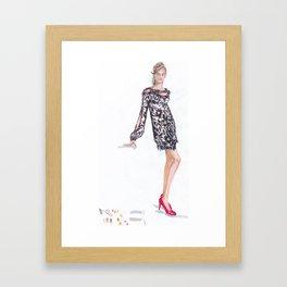 The Dress! Framed Art Print