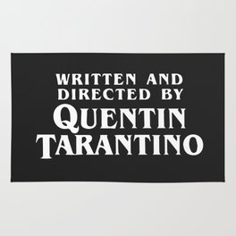 Written and directed by Quentin Tarantino - black Rug