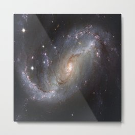 Galaxy Design Metal Print
