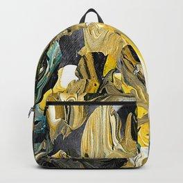 Marble Golden Planet Backpack