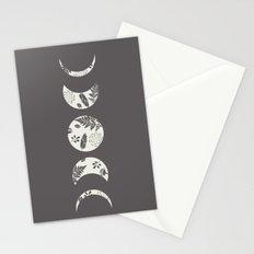 Lunar Nature Stationery Cards