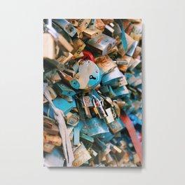 Love Locks, Paris Metal Print