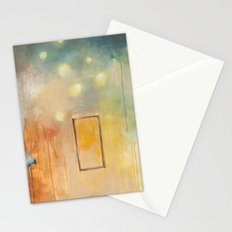 bird and open window Stationery Cards