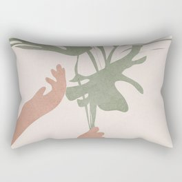 Leafs Rectangular Pillow