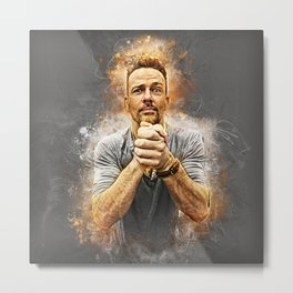 Earnestly Flanery Metal Print