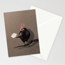 never more Stationery Cards