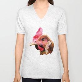 Chicken. Unisex V-Neck
