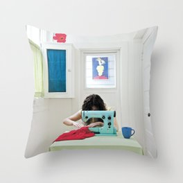 Sew what Throw Pillow