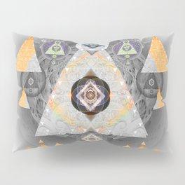 Sacred Vision Focus Mandala Print Pillow Sham