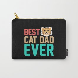 Best cat dad ever Carry-All Pouch