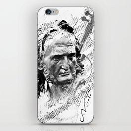 Niccolò Paganini iPhone Skin