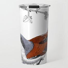 Red-Backed Shrike Travel Mug