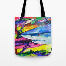 Shark Colors Tote Bag