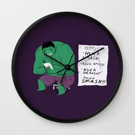 Hulk to do list. Wall Clock