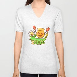 Mukage-kun and His Merry Friends Unisex V-Neck