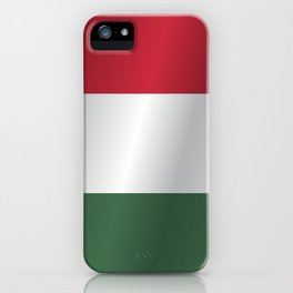 Flag of Hungary iPhone Case