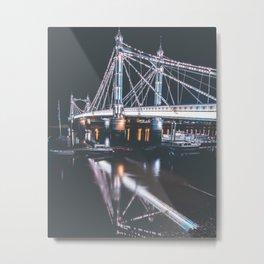 Albert Bridge Metal Print