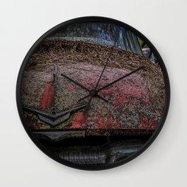 Haunted Plymouth 8 Wall Clock