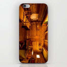 Officers Quarters Fort Clatsop - Lewis And Clark iPhone Skin