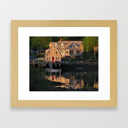 Cape Porpoise Framed Art Print