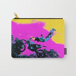 Letting Go - Freestyle Motocross Stunt Carry-All Pouch