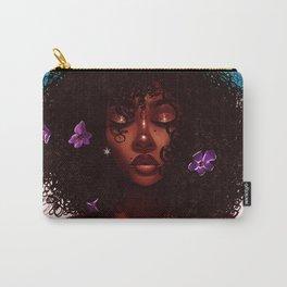 Purple X Melanin Carry-All Pouch