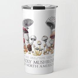Deadly Mushrooms of North America Travel Mug