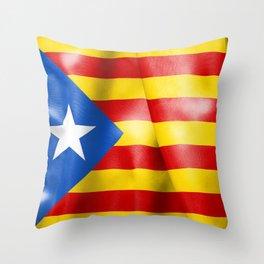 Estelada Flag Throw Pillow