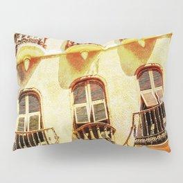 Gibraltar balconies Pillow Sham