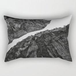 up from abyss Rectangular Pillow