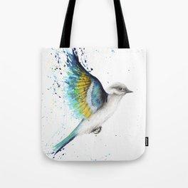 Freedom to Explore Bird Tote Bag