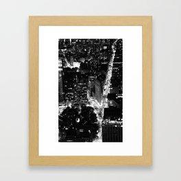 NYC Night Framed Art Print