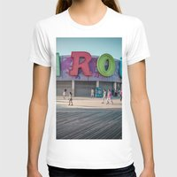 carousel T-shirts featuring Carousel  by MikeMartelli