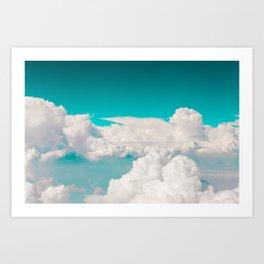 nº1 cali cotton sky Art Print
