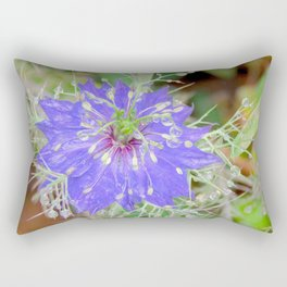 """Petals and Droplets (i)"" by ICA PAVON Rectangular Pillow"