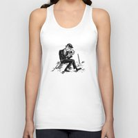 hamlet Tank Tops featuring Hamlet by Mike Laughead
