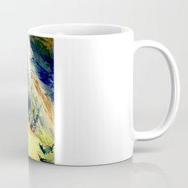 Abstract Yellow Dancer by Robert S. Lee Coffee Mug