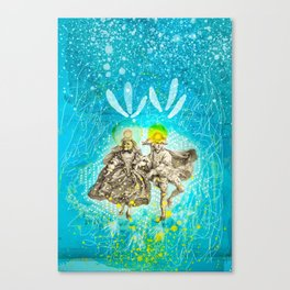 The Lovers - Tarot Canvas Print