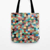 quilt Tote Bags featuring Quilt by Tye Cottage Shop