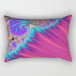 Shattered Ocean Wave Rectangular Pillow